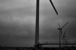 鹿島灘 風力発電 A wind power plant.