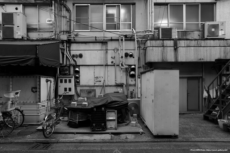 武蔵小杉駅裏
