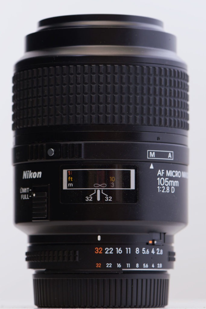 Ai AD Micro Nikkor 105mm F2.8 D