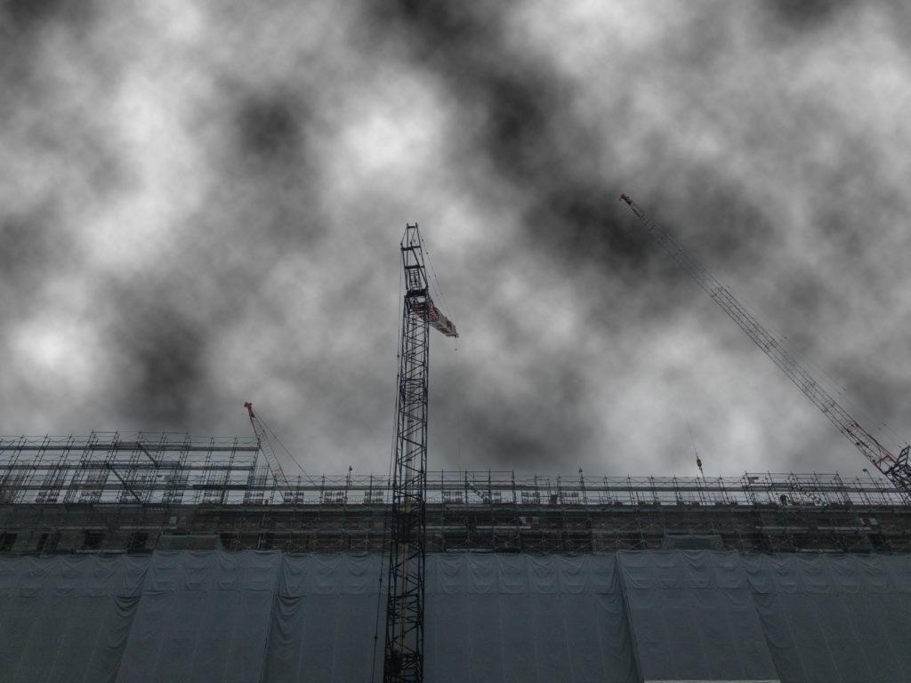 雲模様の適用